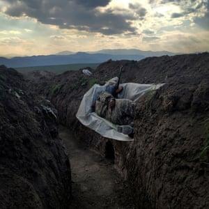Resting Soldier by Vaghinak Ghazaryan