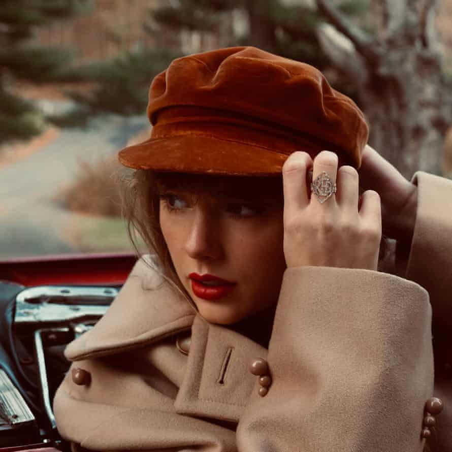 Taylor Swift's Red (Taylor's Version) album artwork.