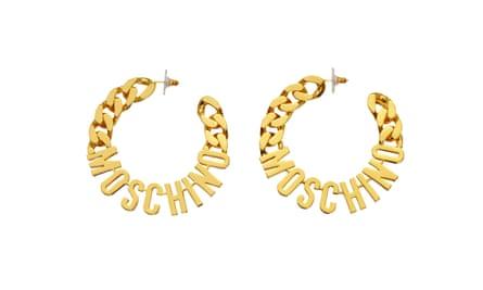 MOSCHINO x H&M, earrings, £29.99.