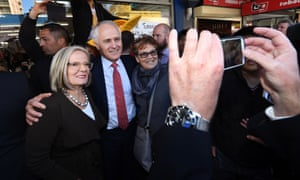 Prime Minister Malcolm Turnbull and wife Lucy