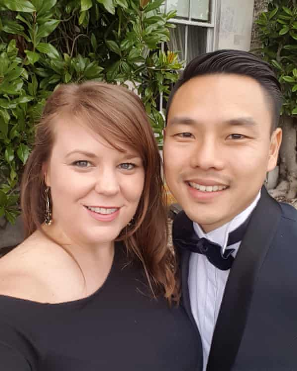 The couple at a wedding in 2018.
