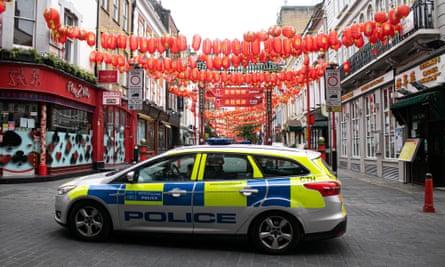 London's Chinatown during the coronavirus crisis