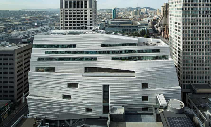 The SFMOMA museum, opened in 2016.