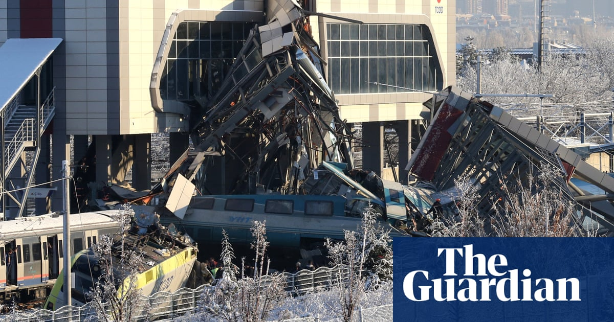 Three rail workers held after deadly high-speed train crash