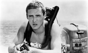 In love with a mermaid … Dennis Hopper in Night Tide.