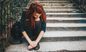 The number of teenagers in care has risen sharply.