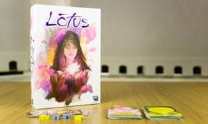 Lotus board game.