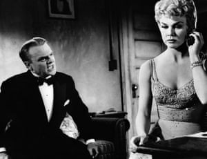 James Cagney and Doris Day in Love Me or Leave Me in 1955