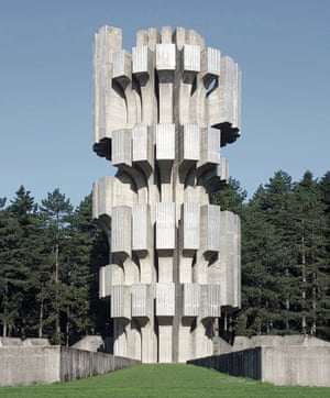 Monument to the Revolution is a World War II memorial sculpture by Dušan Džamonja, located at Mrakovica, one of the highest peaks of the Kozara mountain in Bosnia-Herzegovina.