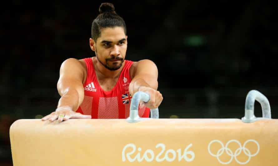 British gymnast Louis Smith