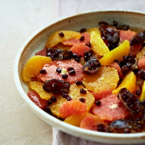 Claire Ptak's orange and date salad