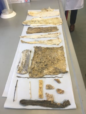 Items scientists found in the fatberg.