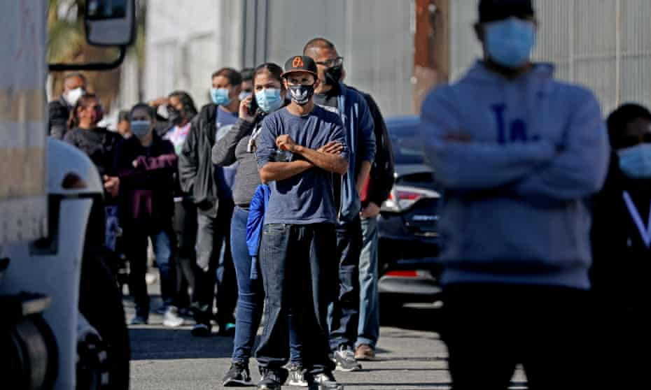 Mobile coronavirus testing teams will deploy to locations in predominantly Black and Latino communities in Los Angeles, California.