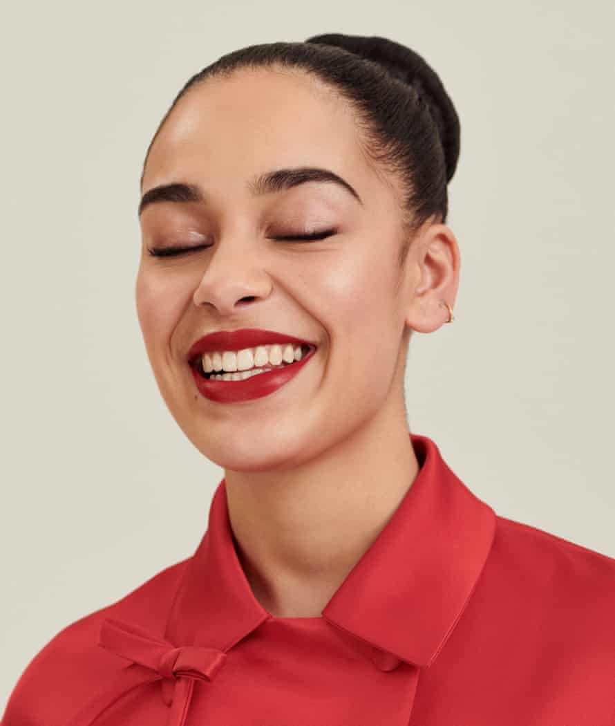 ' If you don't want to listen to slow songs, don't listen to me': Jorga Smith wears a satin coat by prada.com.