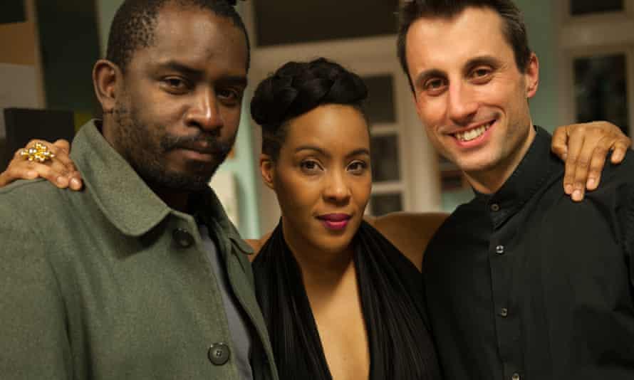 Saxman Jason Yarde, singer Elaine Mitchener and pianist Alexander Hawkins.