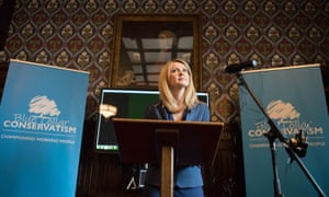 Esther McVey launches Blue Collar Conservatism at the Houses of Parliament