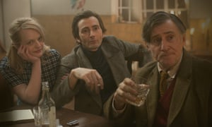 Elisabeth Moss, David Tennant, Gabriel Byrne in Mad to be Normal