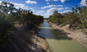 The Darling river near Menindee Lakes. Mystery surrounds the reason Barnaby Joyce chose the companies he did for about $200m of water buybacks