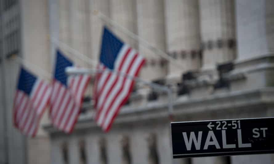 The Dow Jones Industrial Average topped 22,000 points for the first time in opening trading on Wednesday.