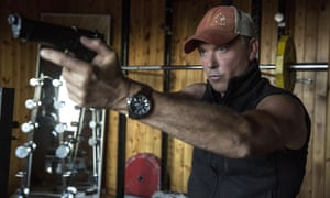 Actor Michael Keaton in American Assassin (2017)