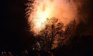 Fireworks in Lewes