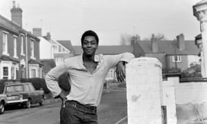 Henry in his home town, Dudley, November 1978