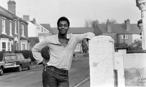 Lenny Henry in Dudley, West Midlands, in 1978.