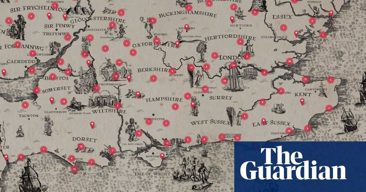 'A unique and slightly mad effort': mapping the UK in poetry