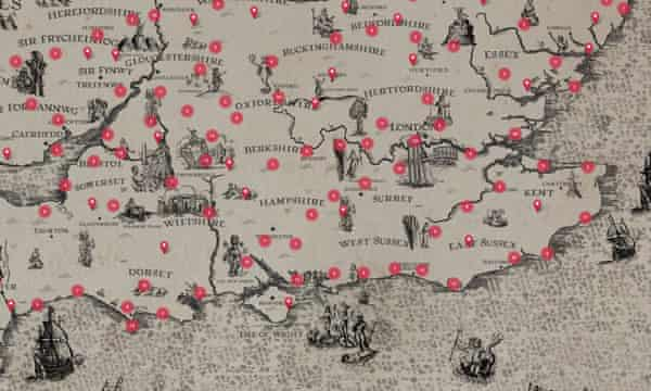 'A unique and slightly mad effort': mapping Britain in poetry