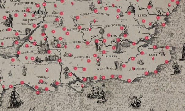 'A unique and slightly mad effort': mapping Britain in poetry | Poetry | The Guardian