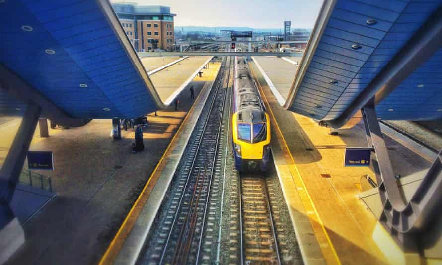 High Angle View Of Train At Railway StationGettyImages-559180055