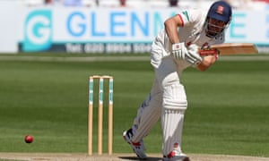 Alastair Cook deflects elegantly away on the leg side during Essex's comprehensive victory over Nottinghamshire.