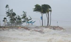 Cyclone Yasi, Townsville, Australia. 3 February, 2011.