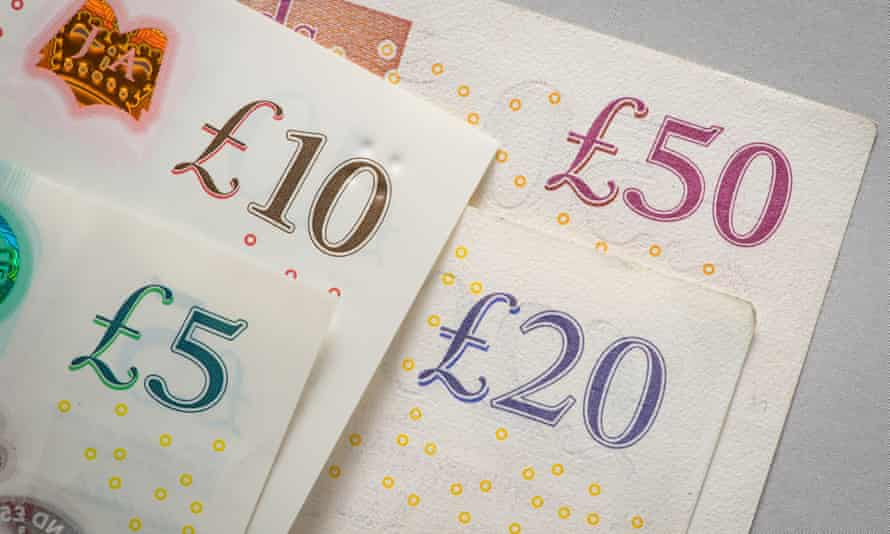 United Kingdom banknotes.