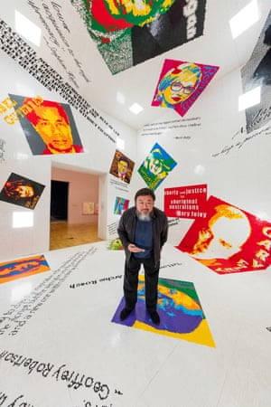 Ai Weiwei in Melbourne: 'No question is hard to answer.'