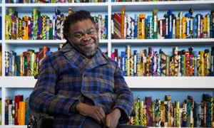 Yinka Shonibare MBE: with his work The British Library at Turner Contemporary, Margate (on display until 30 October).