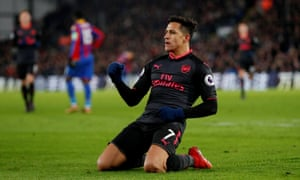 Crystal Palace 2-3 Arsenal  Premier League – as it happened ... 8afca7fb0