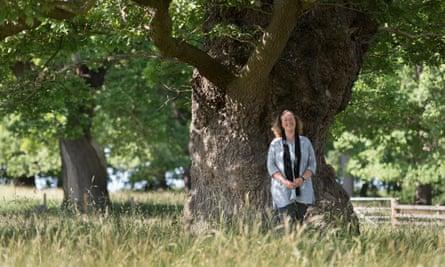 Dr Coralie Mills, Scottish woodland heritage specialist.