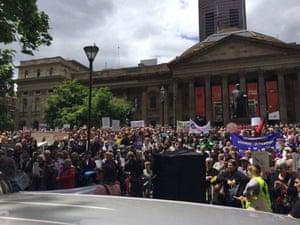 Melbourne rally