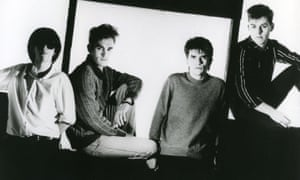 THE SMITHS Promotional photo of UK rock group about 1985D9TY2G THE SMITHS Promotional photo of UK rock group about 1985