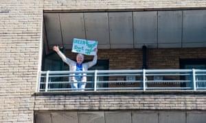 Maureen Childs on balcony