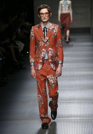 Gucci show, Autumn Winter 2015, Milan Fashion Week, Italy
