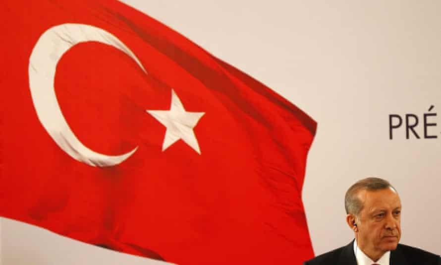 Turkey's president, Recep Tayyip Erdoğan.
