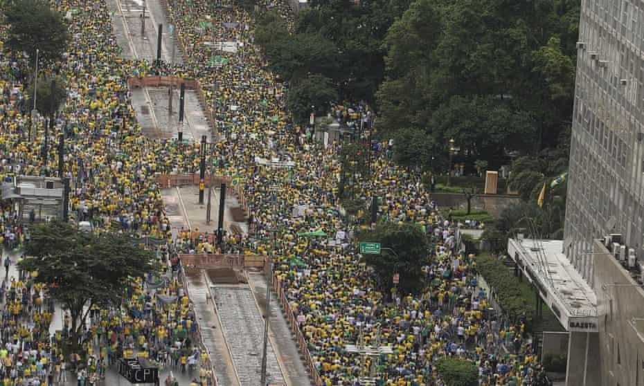 brazil protest sao paulo