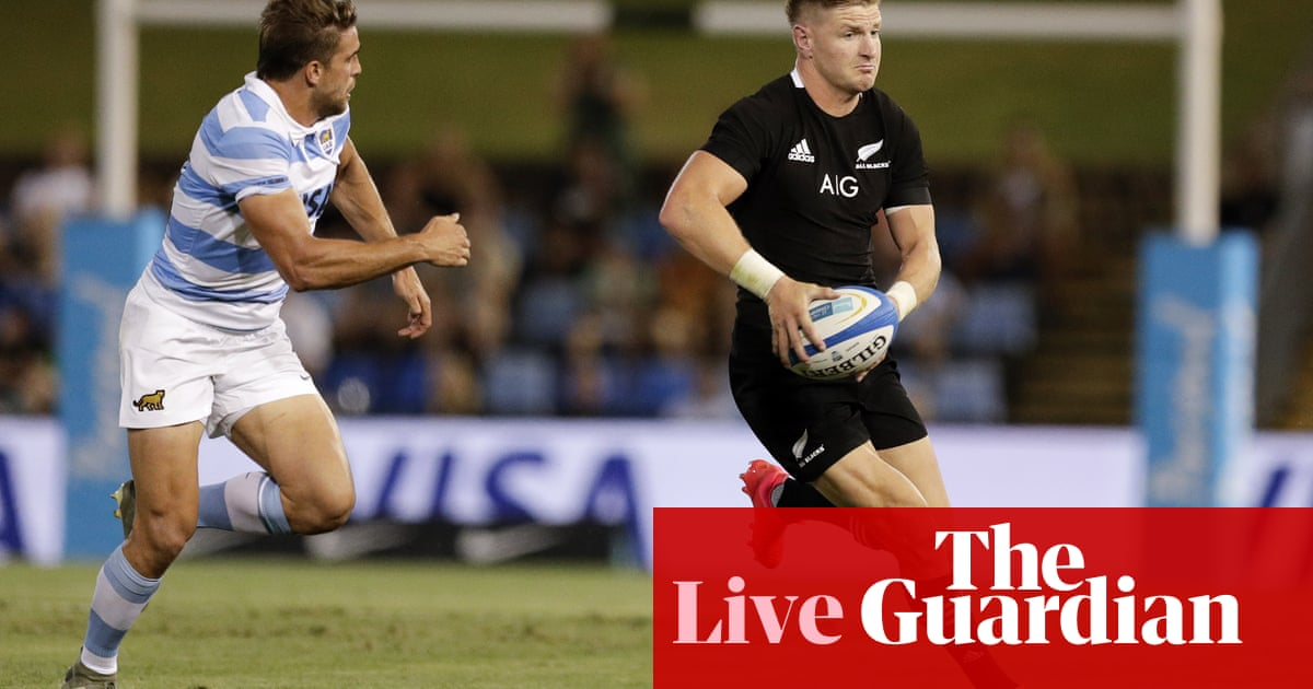 Argentina v New Zealand All Blacks: Rugby Tri-Nations – live!
