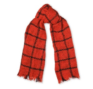 "£80,<a href=""http://www.whistles.com/women/accessories/scarves/check-open-weave-blanket-scarf-20192.html?dwvar_check-open-weave-blanket-scarf-20192_color=Red#start=1""> whistles.com</a>"