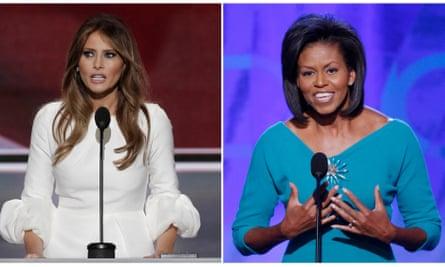 Melania Trump Michelle Obama