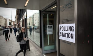 British Voters Go To The Polls