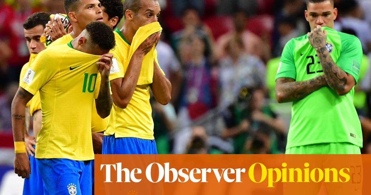 Brazil going out of World Cup hurts but Tite must stay to finish his work.  Marta 3acdbca71