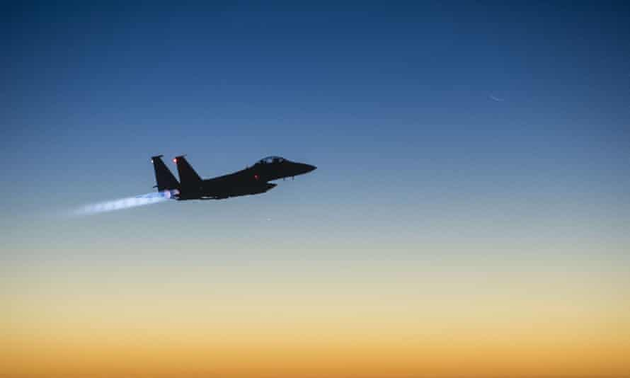 The Pentagon said that the airstrike took place near the town of Shaddadi, a former Isis stronghold that was captured in February by Kurdish forces.